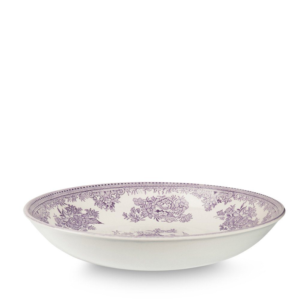 Pasta Bowl - Plum Asiatic Pheasants Pasta Bowl 23cm/9""