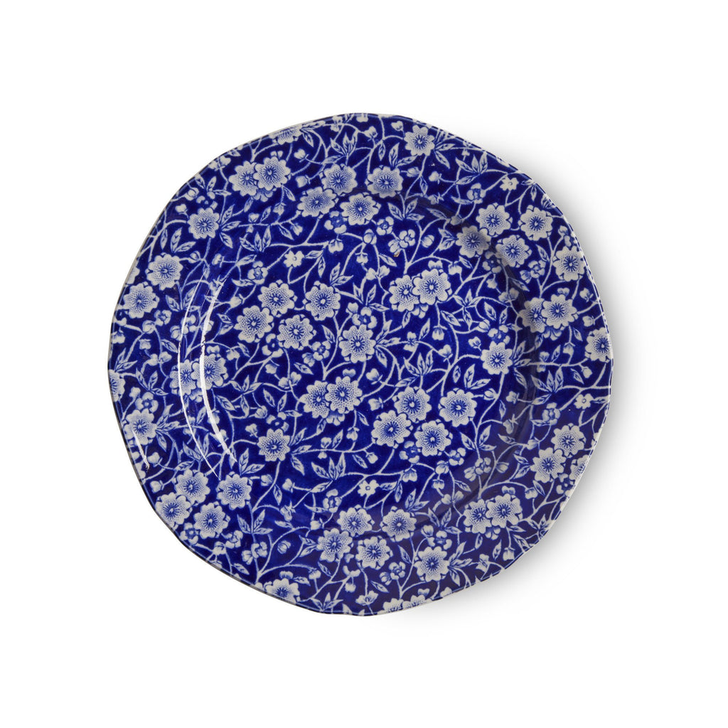 Plate - Blue Calico Plate 19cm/7.5""