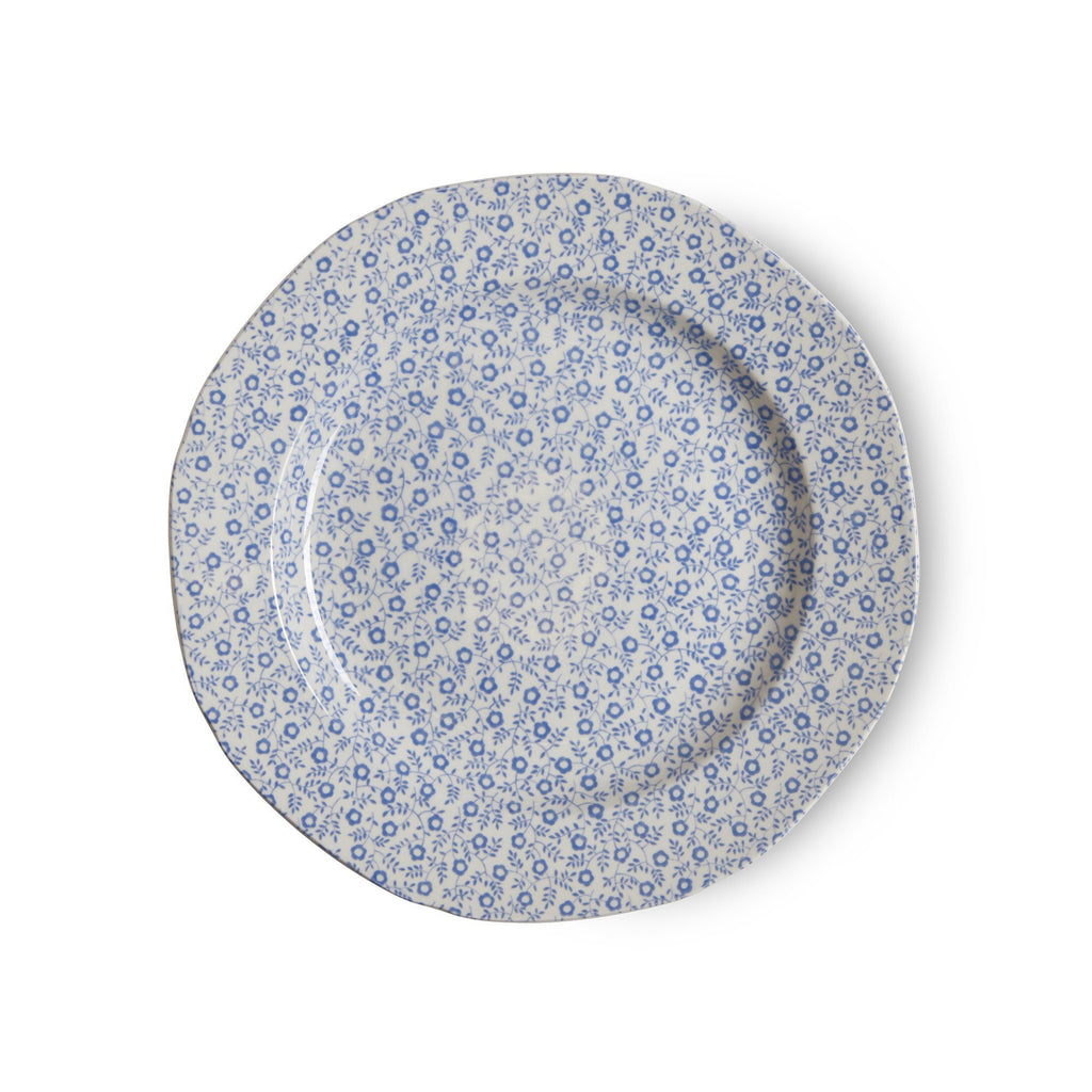 "Plate - Blue Felicity Plate 19cm/7.5"" Seconds"