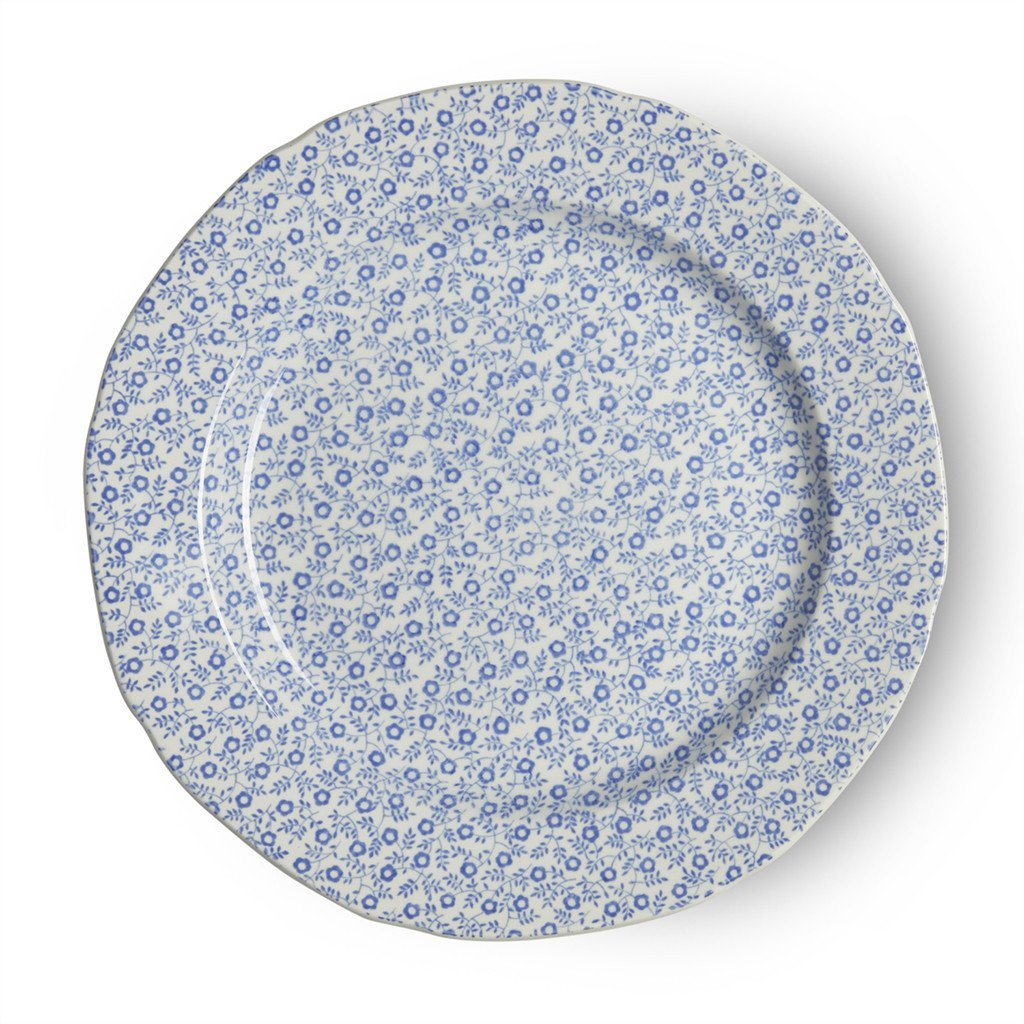 "Plate - Blue Felicity Plate 21.5cm/8.5"" Seconds"