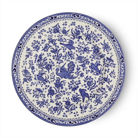 Blue Regal Peacock Plate 25cm/10""