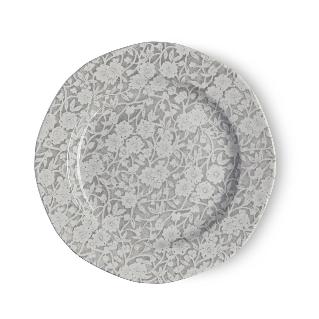 "Plate - Dove Grey Calico Plate 19cm / 7.5"" Seconds"