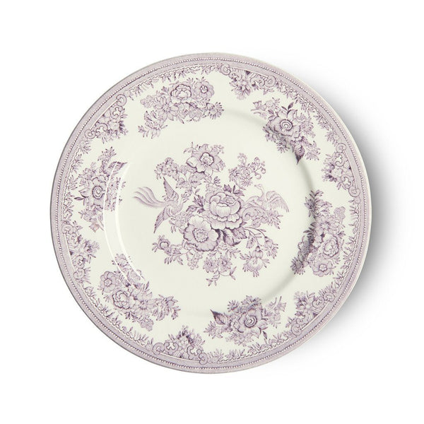 Plate - Plum Asiatic Pheasants Plate 17.5cm/7""