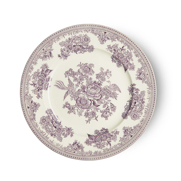 Plate - Plum Asiatic Pheasants Plate 22cm/8.75""