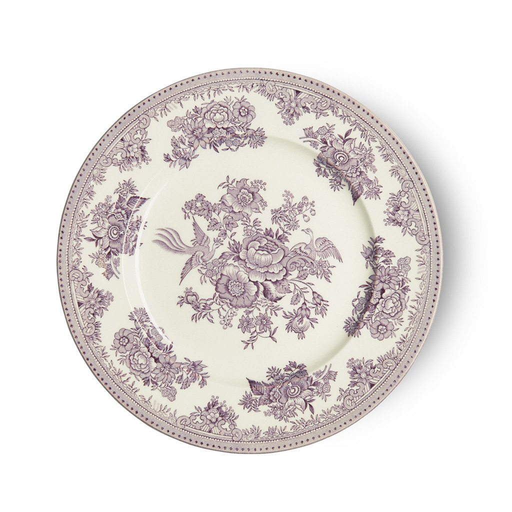 "Plate - Plum Asiatic Pheasants Plate 22cm/8.75"" Seconds"