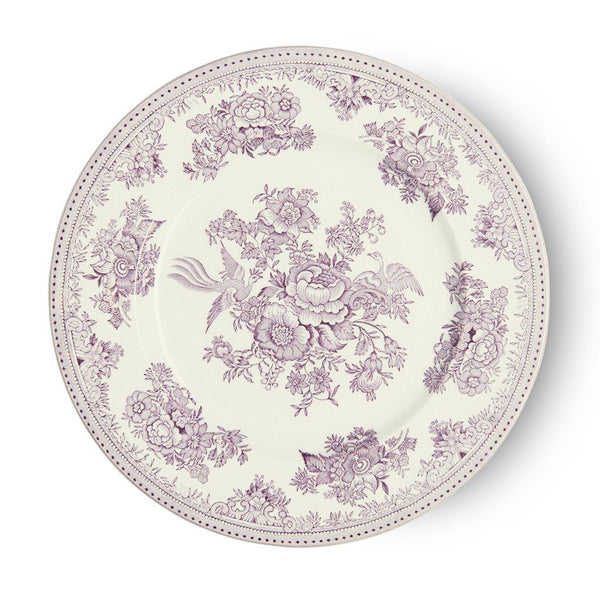 "Plate - Plum Asiatic Pheasants Plate 25cm/10"" Seconds"