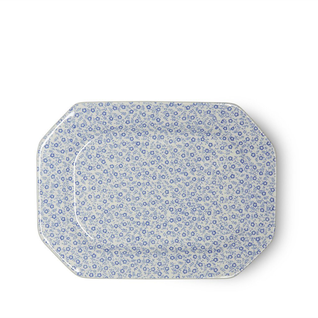 Rectangular Dish - Blue Felicity Rectangular Platter 25cm/10""
