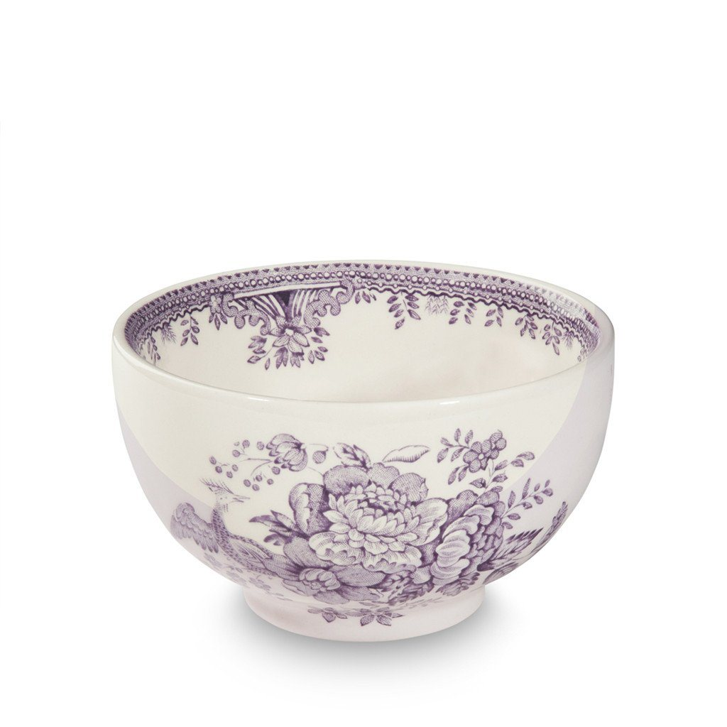 Rice Bowl - Plum Asiatic Pheasants Rice Bowl 11cm/4.25""