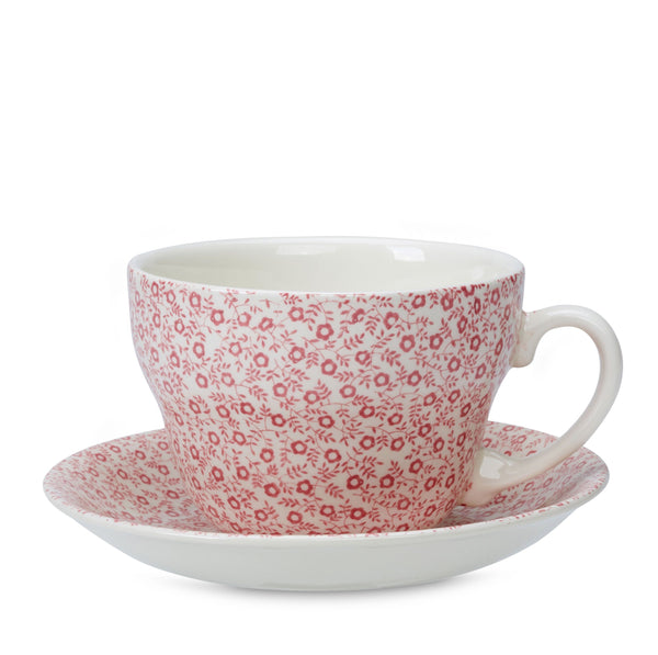 Rose Pink Felicity Breakfast Cup And Saucer