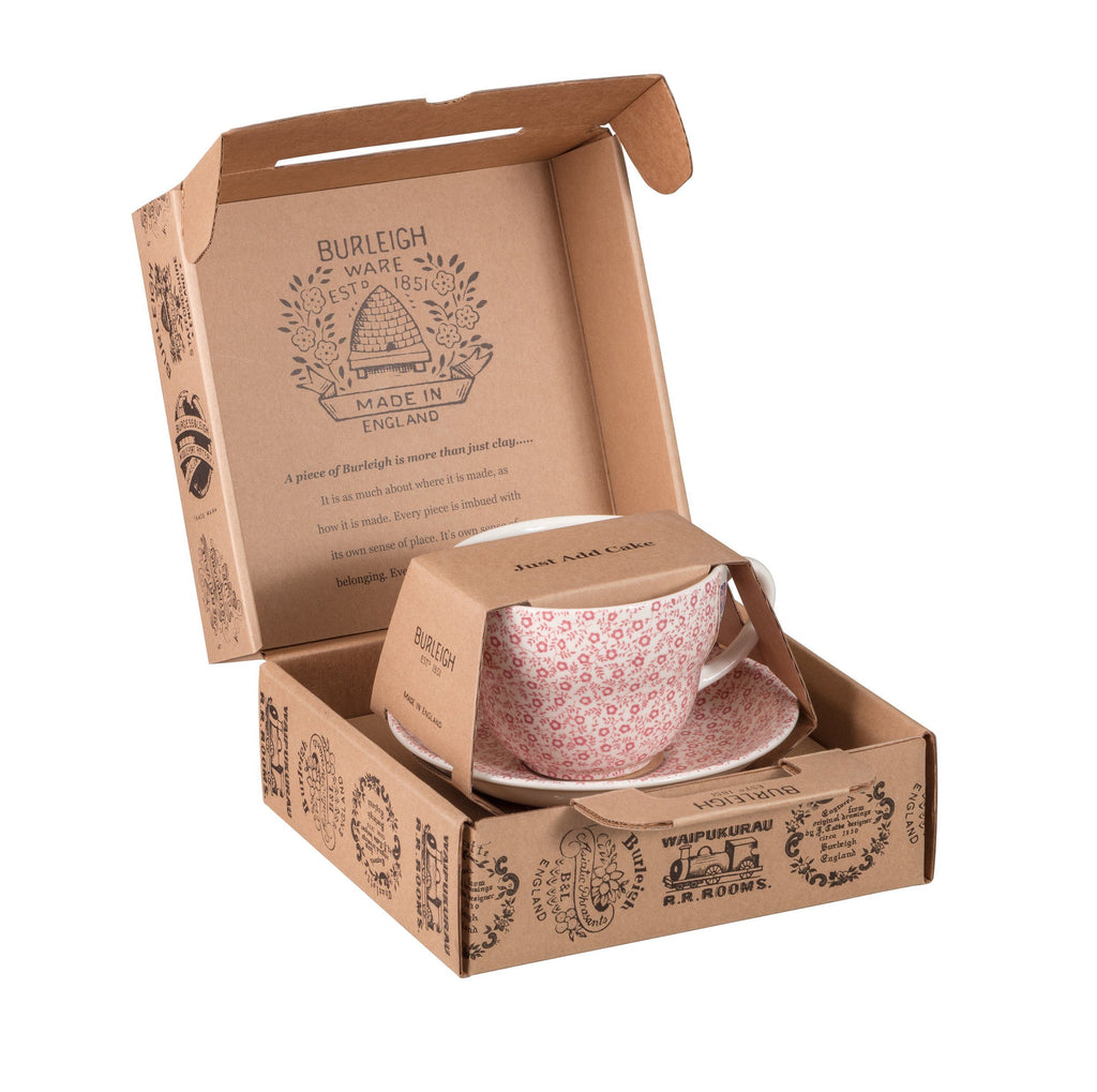 Rose Pink Felicity Breakfast Cup Gift Set