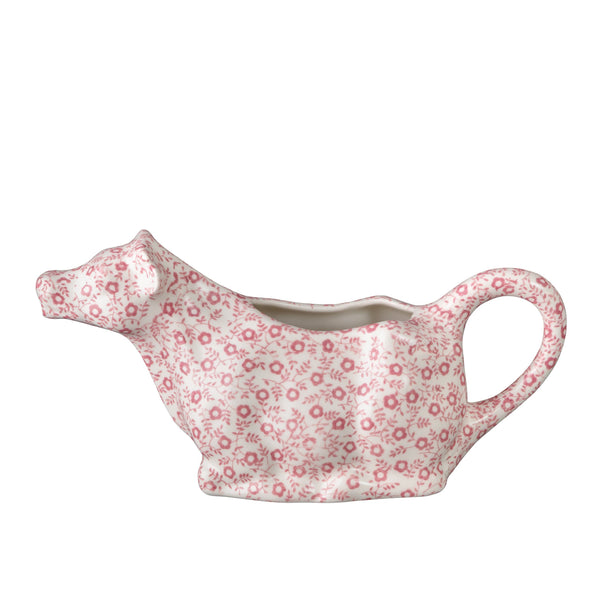 Rose Pink Felicity Cow Creamer 150ml/0.25pt Gift Boxed
