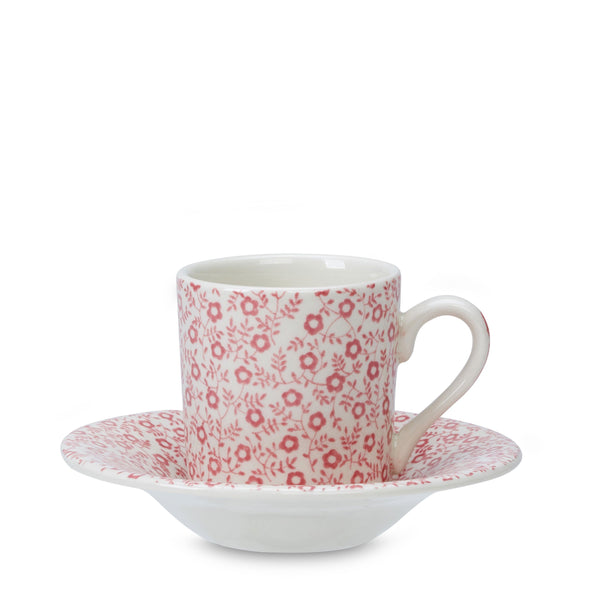 Rose Pink Felicity Espresso Cup And Saucer