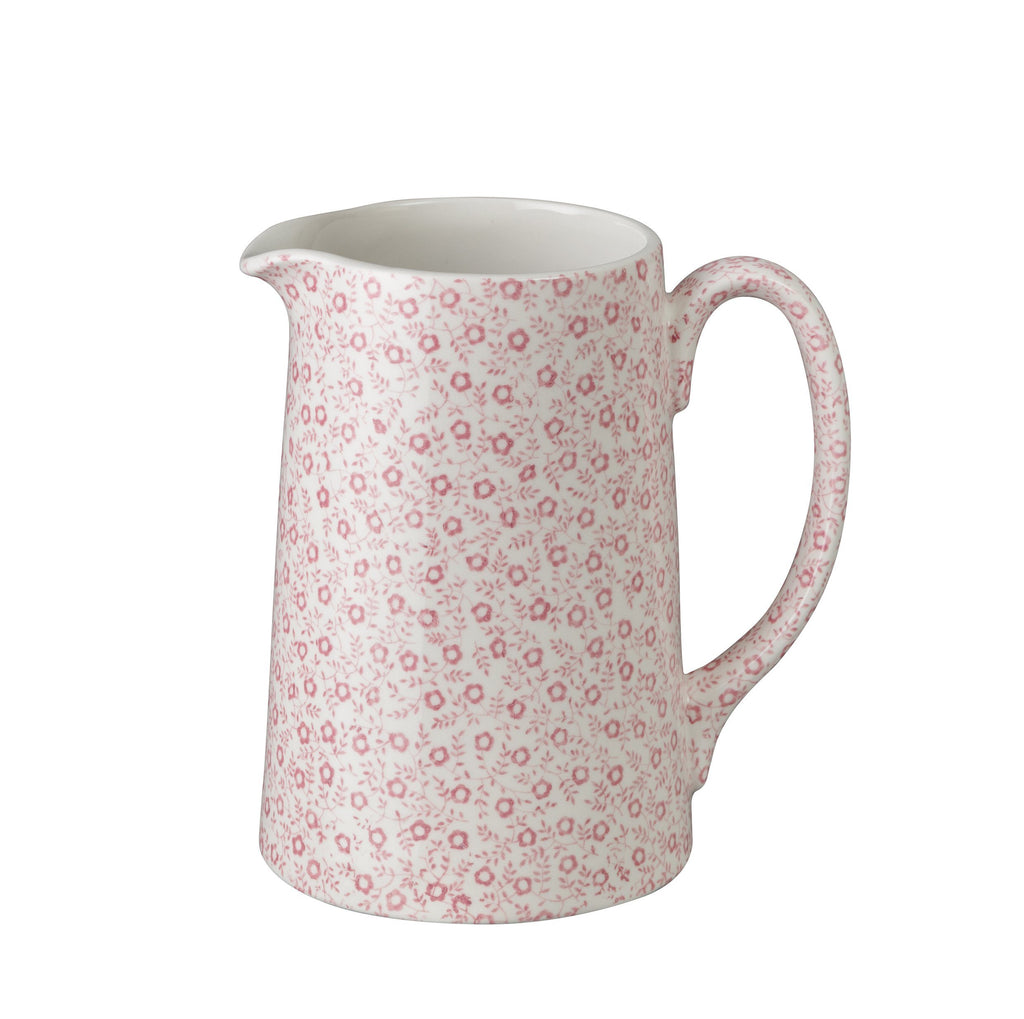 Rose Pink Felicity Medium Tankard Jug 568ml/1pt
