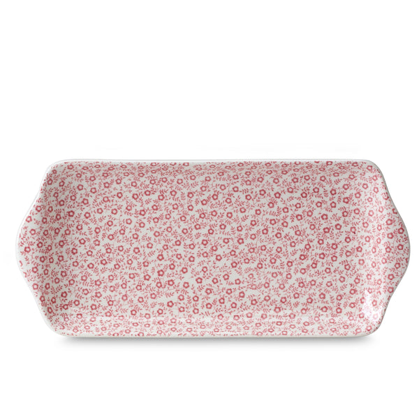 Rose Pink Felicity Rectangular Tray 28cm/11""