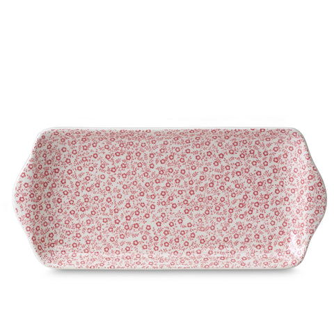 "Rose Pink Felicity Rectangular Tray 28cm/11"" Seconds"