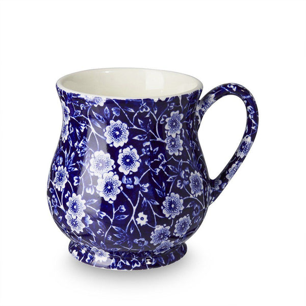 Sandringham Mug - Blue Calico Sandringham Mug 284ml/0.5pt Seconds