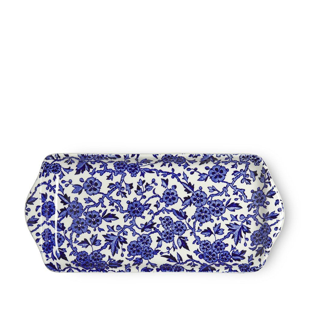 Sandwich Tray - Blue Arden Rectangular Tray 28cm/11""