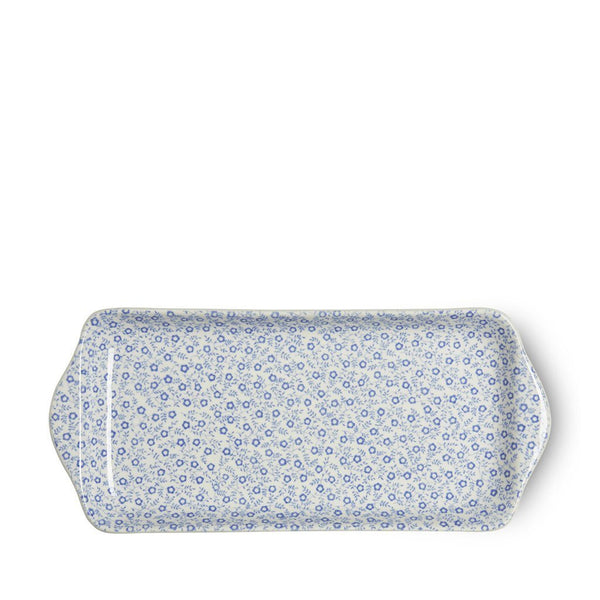 Sandwich Tray - Blue Felicity Rectangular Tray 28cm/11""