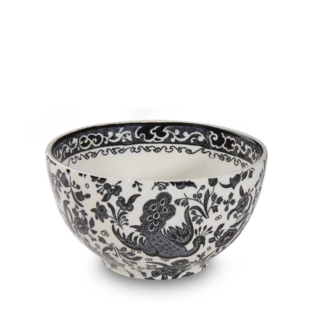 Sugar Bowl - Black Regal Peacock Sugar Bowl 12cm/4.75""