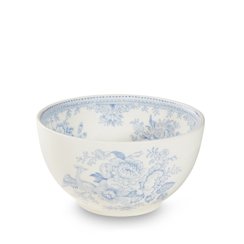 "Sugar Bowl - Blue Asiatic Pheasants Mini Footed Bowl 12cm/5"" Seconds"
