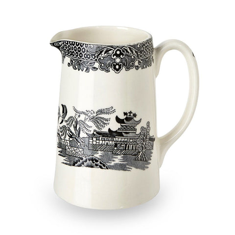 Black Willow Medium Tankard Jug 568ml/1pt Seconds