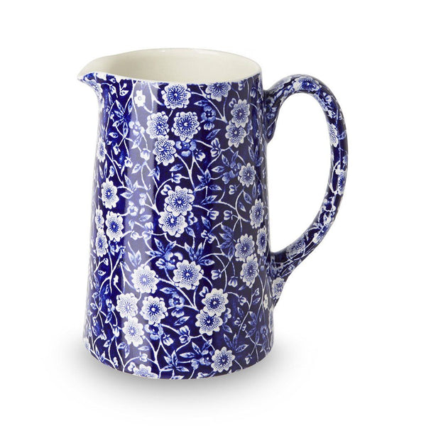 Tankard Jug - Blue Calico Medium Tankard Jug 568ml/1pt Seconds