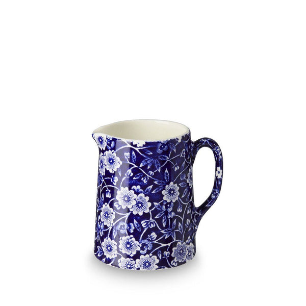 Tankard Jug - Blue Calico Mini Tankard Jug 160ml/ 0.25pt Seconds