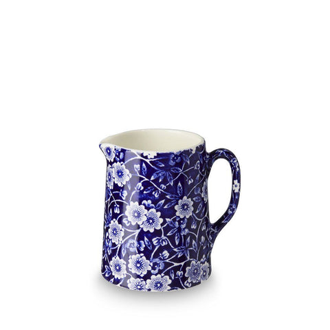 Blue Calico Mini Tankard Jug 160ml/ 0.25pt Seconds