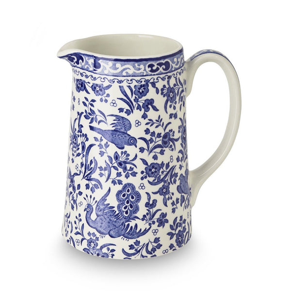 Tankard Jug - Blue Regal Peacock Tankard Medium Jug 568ml/1pt