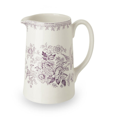 Plum Asiatic Pheasants Medium Tankard Jug 568ml/1pt