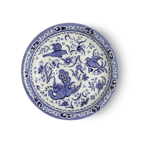 Blue Regal Peacock Tea Saucer Seconds