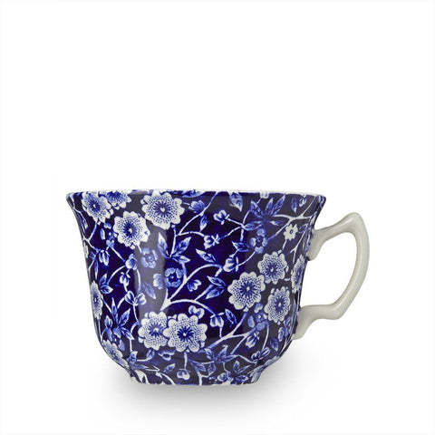 Blue Calico Teacup 187ml/0.33pt Seconds
