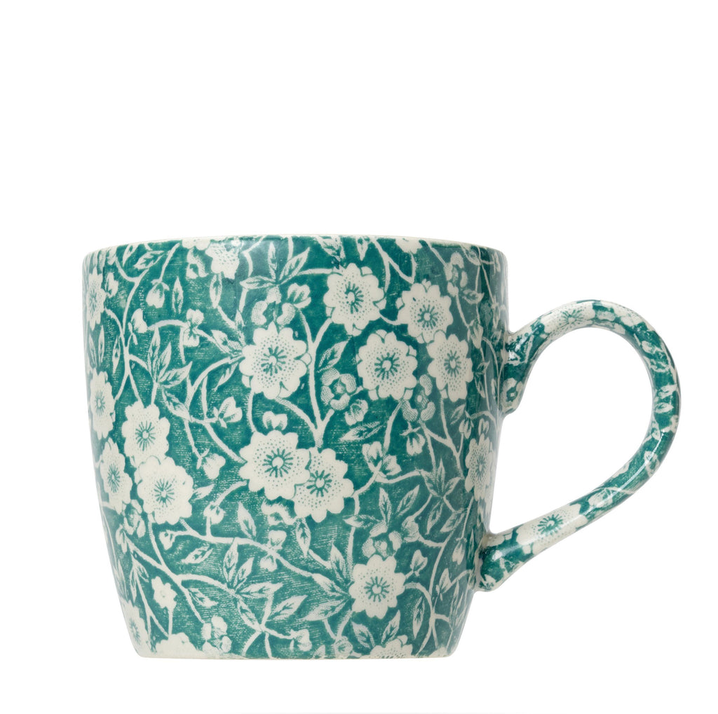 Teal Calico 50th Anniversary Osbourne Mug