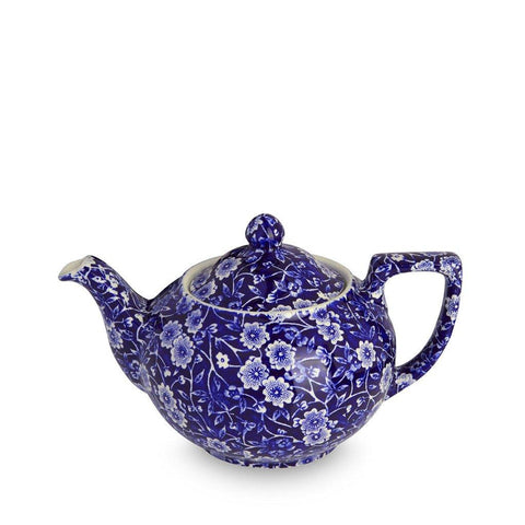 Blue Calico Small Teapot 3-4 cup 400ml/0.75pt