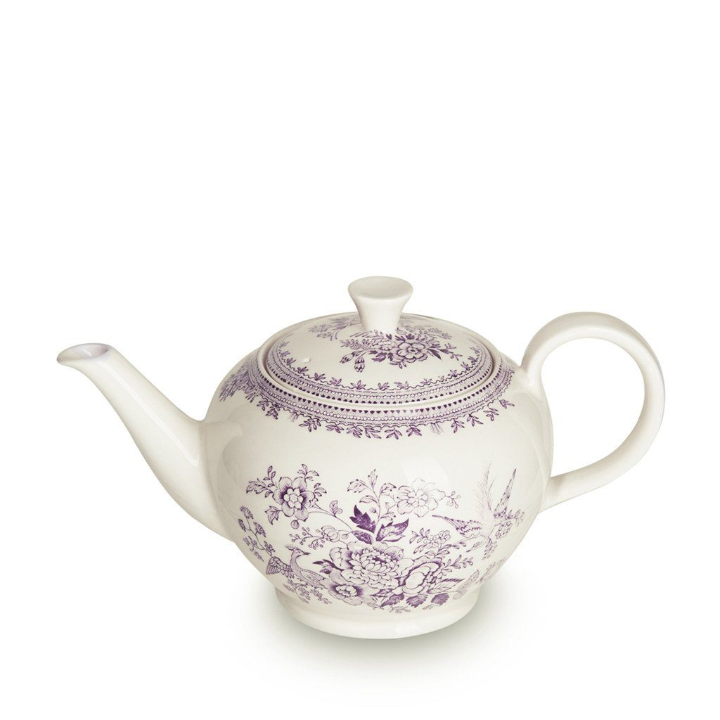 Teapot - Plum Asiatic Pheasants Large Teapot 7 Cups 800ml/1.5pt