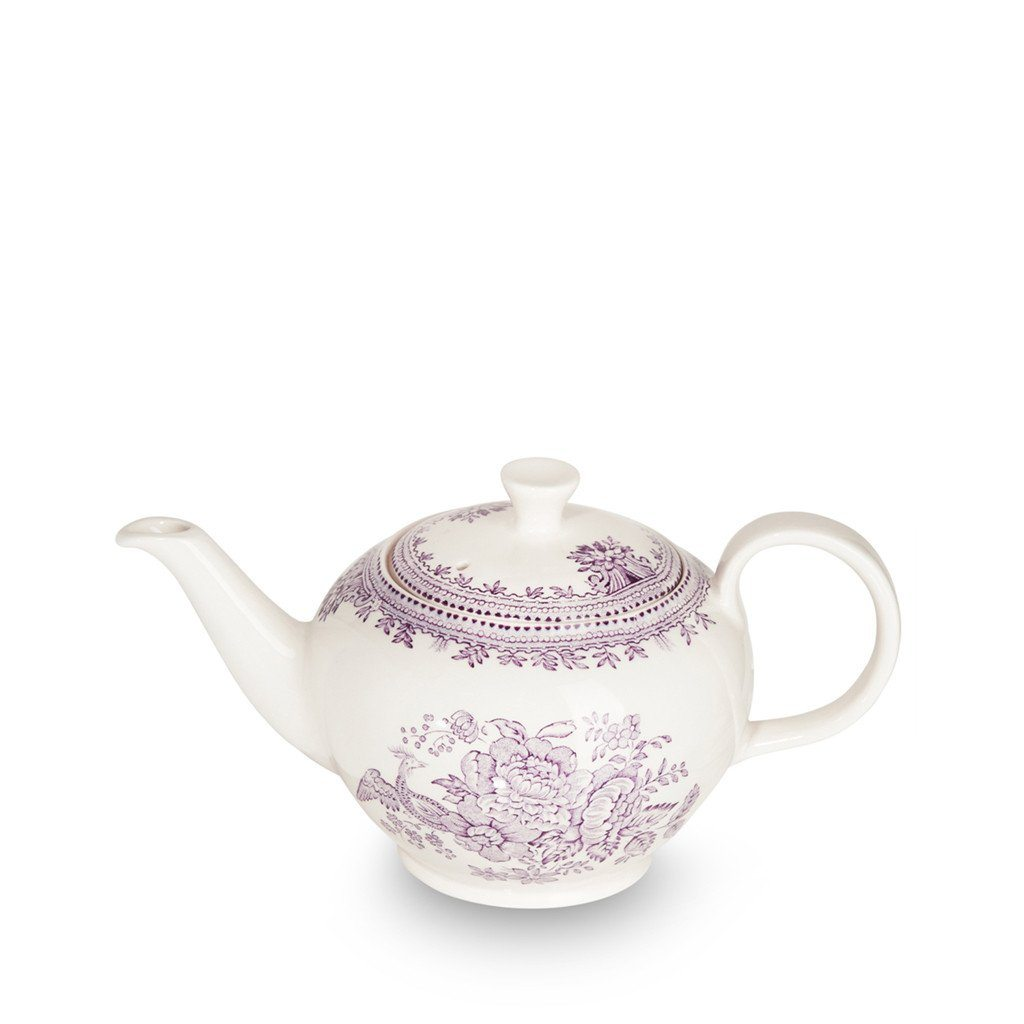 Teapot - Plum Asiatic Pheasants Small Teapot 3-4 Cup 400ml/0.75pt Seconds