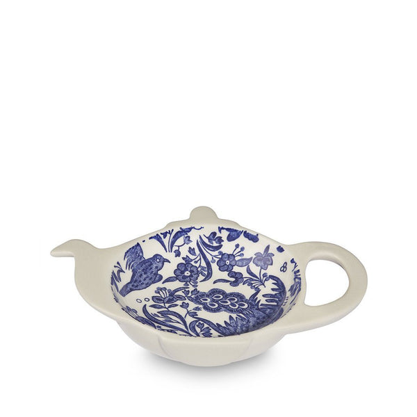 Teapot Tray - Blue Regal Peacock Mini Teapot Tray