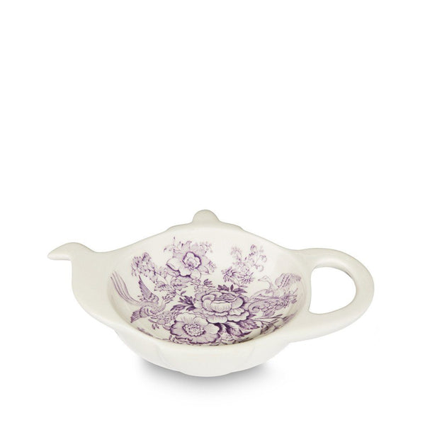 Teapot Tray - Plum Asiatic Pheasants Mini Teapot Tray