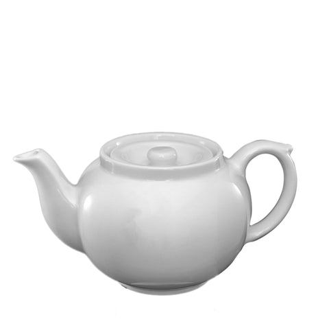 White Ware Teapot for one - 375ml