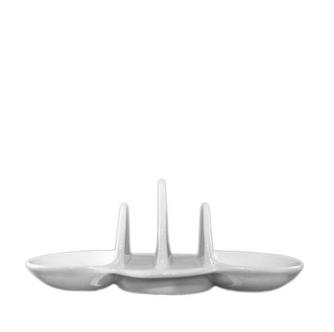 White Ware Toast Rack