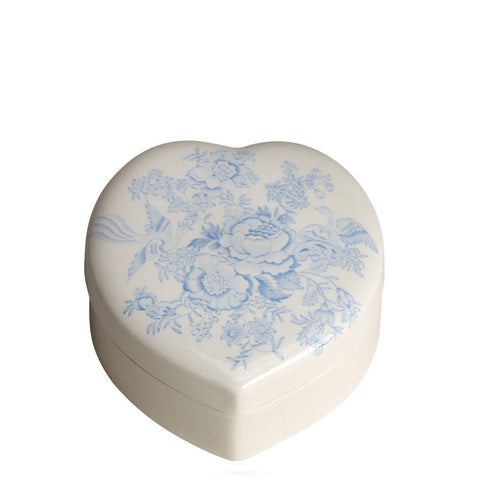 Blue Asiatic Pheasants Trinket Box