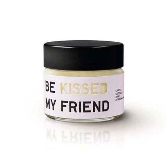 BE KISSED MY FRIEND, Lippenbalsam, Zirbe/Zitronenmelisse
