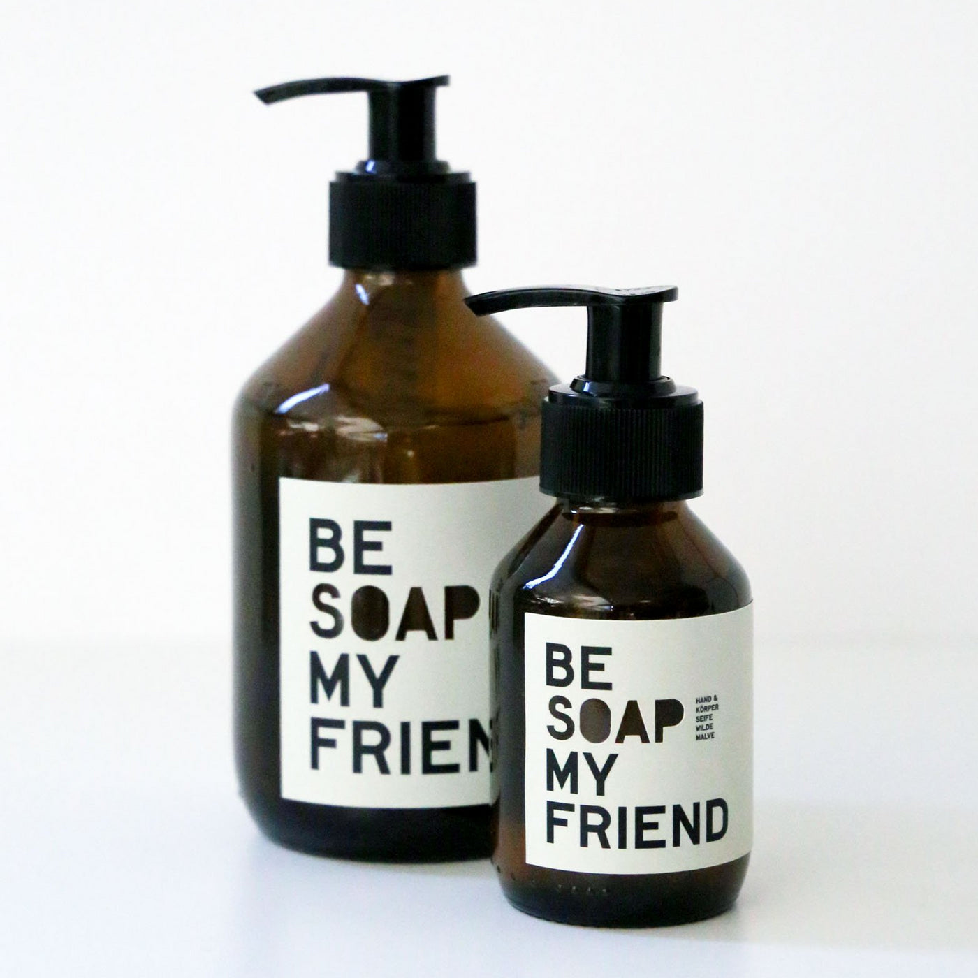 BE SOAP MY FRIEND, Hand- und Körperseife, Wilde Malve