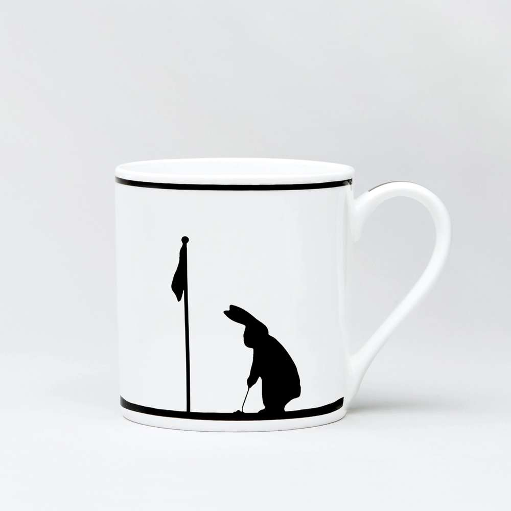 Becher 'Golfing Rabbit'