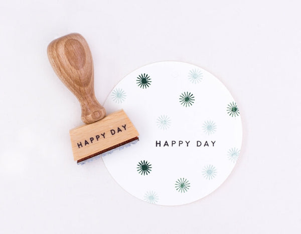 Stempel 'Happy Day'