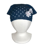 Jeans Bandana Hat for Girls