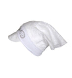 White Bandana Hat for Girls