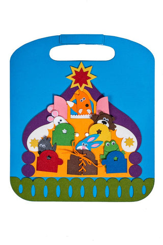 Activity Play Mat Animals House