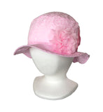Cotton Pink Sun Hat for Girl