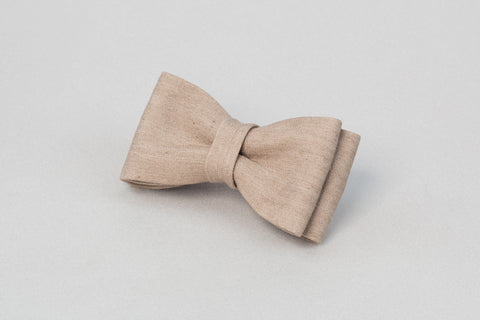Light beige Bow tie